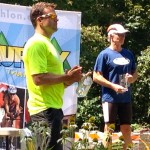 David Glover at Luray Triathlon