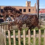 Sculpture in Luray Virginia