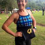 Andrea Mathias at Luray Triathlon