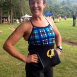 Andrea Mathias at Luray Triathlon