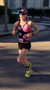 Krista running