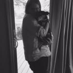 natalie and twix dog