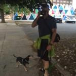 david glover at galesburg half marathon
