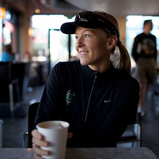 Krista Schultz at Coffee Shop